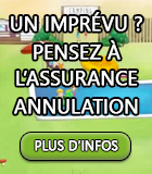 Plus d'informations sur l'assurance annulation